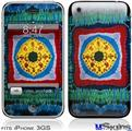 iPhone 3GS Skin - Tie Dye Circles and Squares 101