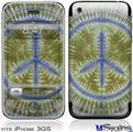 iPhone 3GS Skin - Tie Dye Peace Sign 102