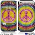 iPhone 3GS Skin - Tie Dye Peace Sign 109