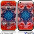 iPhone 3GS Skin - Tie Dye Star 100