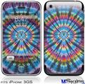 iPhone 3GS Skin - Tie Dye Swirl 101