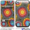 iPhone 3GS Skin - Tie Dye Circles 100