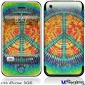 iPhone 3GS Skin - Tie Dye Peace Sign 111