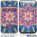 iPhone 3GS Skin - Tie Dye Star 101