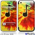 iPhone 3GS Skin - Tie Dye Music Note 100
