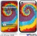 iPhone 3GS Skin - Tie Dye Swirl 108