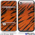 iPhone 3GS Skin - Tie Dye Bengal Side Stripes