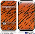 iPhone 3GS Skin - Tie Dye Bengal Belly Stripes