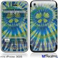 iPhone 3GS Skin - Tie Dye Peace Sign Swirl