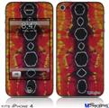 iPhone 4 Decal Style Vinyl Skin - Tie Dye Spine 100 (DOES NOT fit newer iPhone 4S)