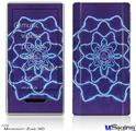 Zune HD Skin - Tie Dye Purple Stars
