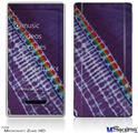 Zune HD Skin - Tie Dye Alls Purple
