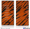 Zune HD Skin - Tie Dye Bengal Side Stripes