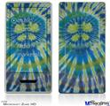 Zune HD Skin - Tie Dye Peace Sign Swirl