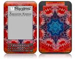 Tie Dye Star 100 - Decal Style Skin fits Amazon Kindle 3 Keyboard (with 6 inch display)