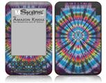 Tie Dye Swirl 101 - Decal Style Skin fits Amazon Kindle 3 Keyboard (with 6 inch display)