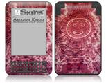 Tie Dye Happy 102 - Decal Style Skin fits Amazon Kindle 3 Keyboard (with 6 inch display)