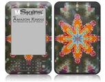 Tie Dye Star 103 - Decal Style Skin fits Amazon Kindle 3 Keyboard (with 6 inch display)
