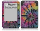 Tie Dye Swirl 106 - Decal Style Skin fits Amazon Kindle 3 Keyboard (with 6 inch display)