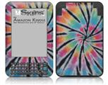 Tie Dye Swirl 109 - Decal Style Skin fits Amazon Kindle 3 Keyboard (with 6 inch display)