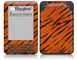 Tie Dye Bengal Belly Stripes - Decal Style Skin fits Amazon Kindle 3 Keyboard (with 6 inch display)